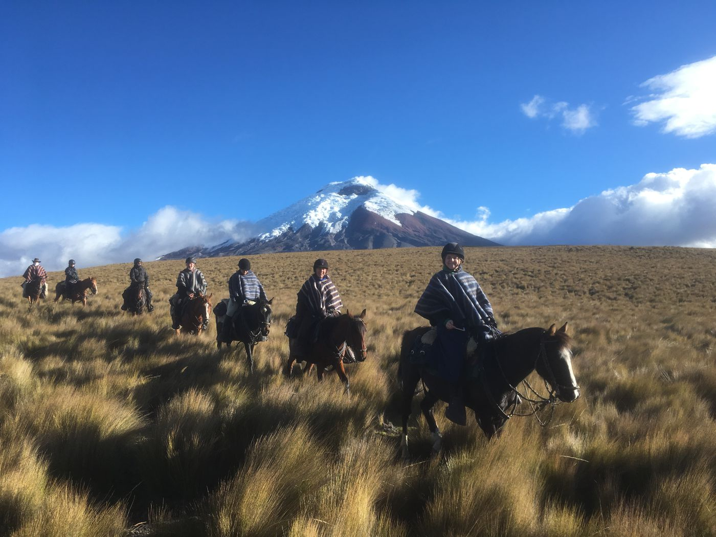 Volcano Ride - Cotopaxi itinerary.