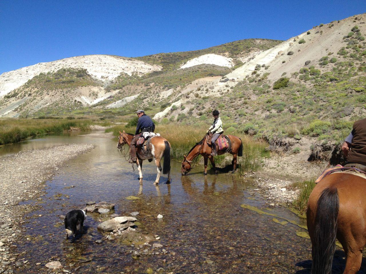 Huaso Trail itinerary.