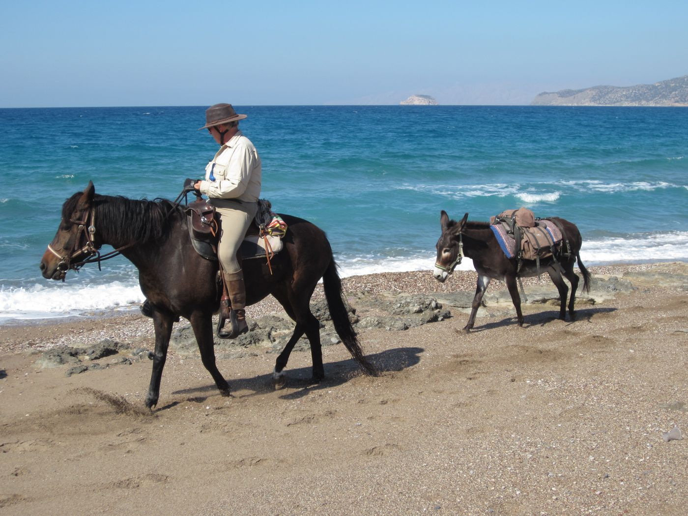 South Rhodes Comfy Trail itinerary.