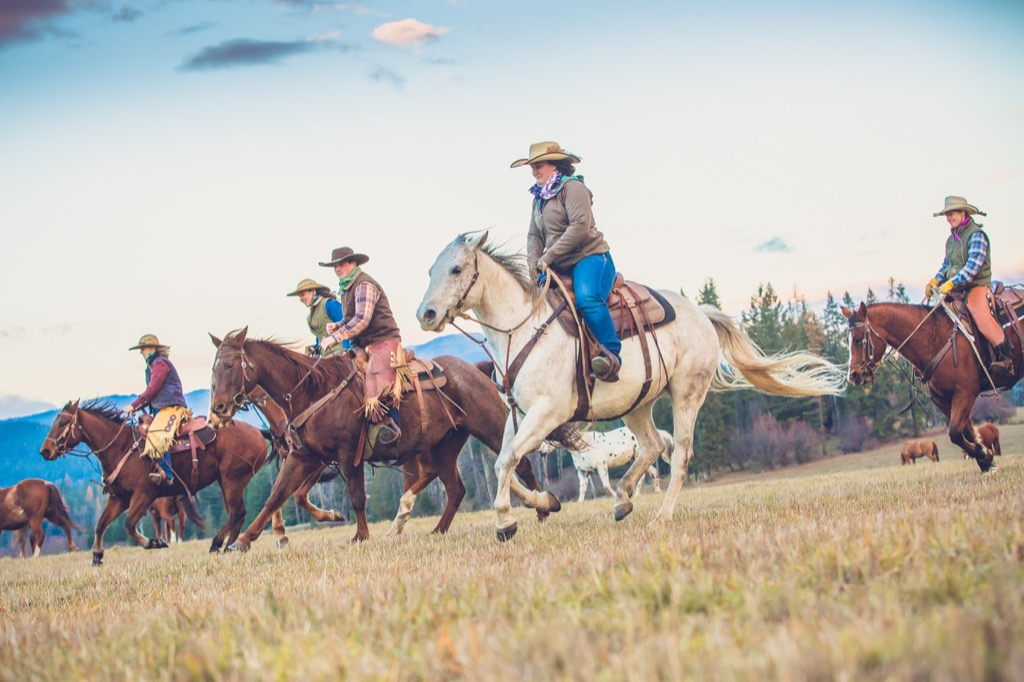 Idaho Western Pleasure Ranch Riding Holiday In Usa Far And Ride