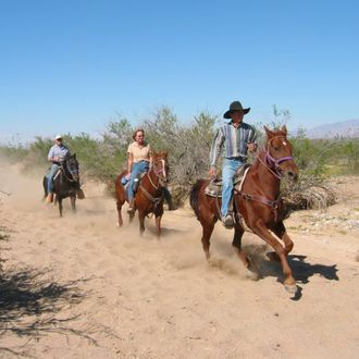 Photo from the Hualapai Ranch (Stagecoach Trails) ride