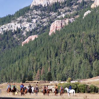 Photo from the Montana Mountain Ranch ride