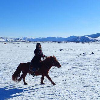 Photo from the Winter in Mongolia ride