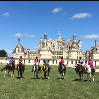 Photo from the Chateaux de la Loire ride