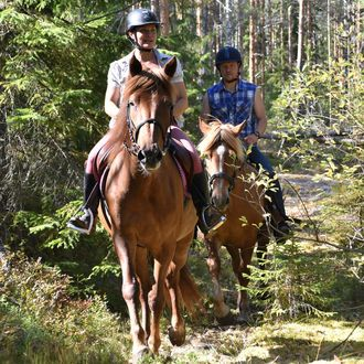 Photo from the Finnhorse Adventures ride