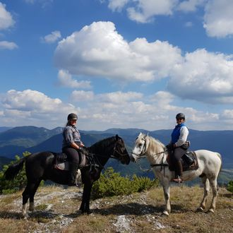 Photo from the Rhodope Mountain Trails ride