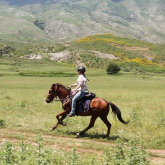 Photo from the Medieval Albanian Trails ride