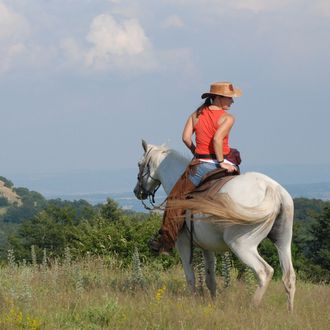 Photo from the Western Adventures in Tuscany ride