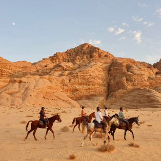 Photo from the Petra Trails ride