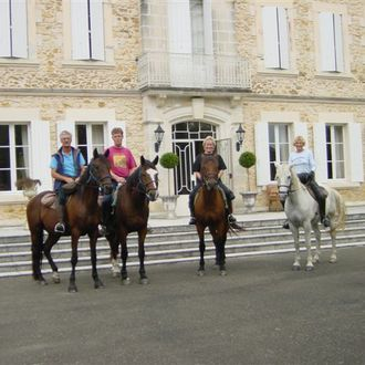 Photo from the Armagnac Chateau ride