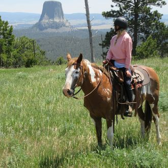 Photo from the Black Hills Ranch (Wyoming) ride