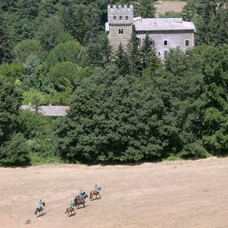 Photo from the Tuscany Castle ride