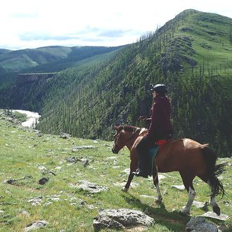 Photo from the TransMongolia Trail ride