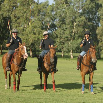 Photo from the El Venado Polo School ride